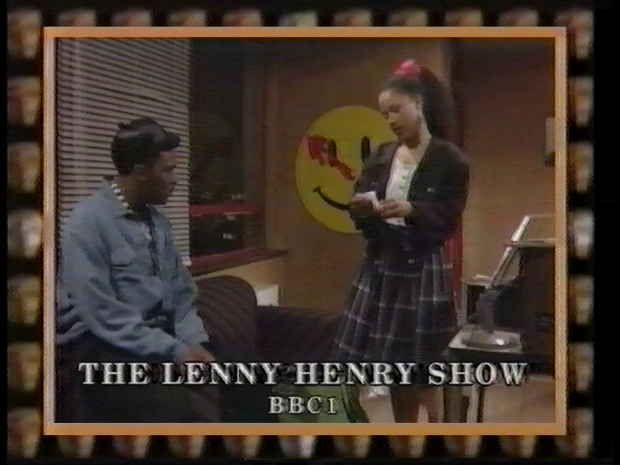 I bet the set decorator thought it was just an Acid House poster. I bet Lenny knew.
