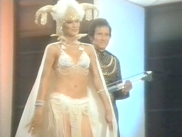 Buck Rogers Ardala Showgirl