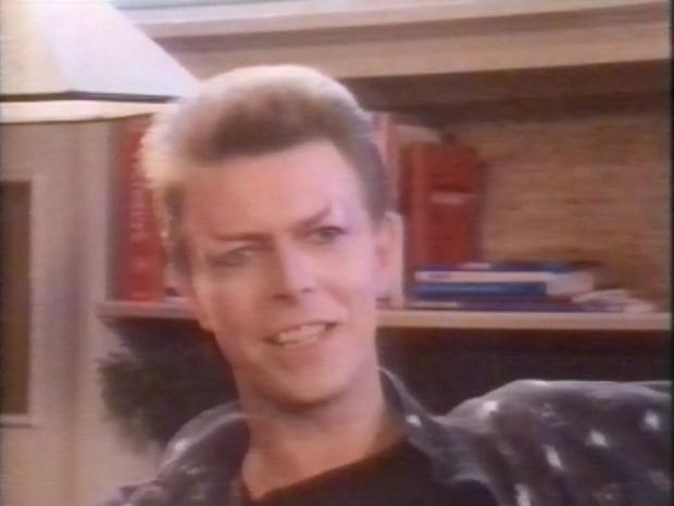 David Bowie unmasked