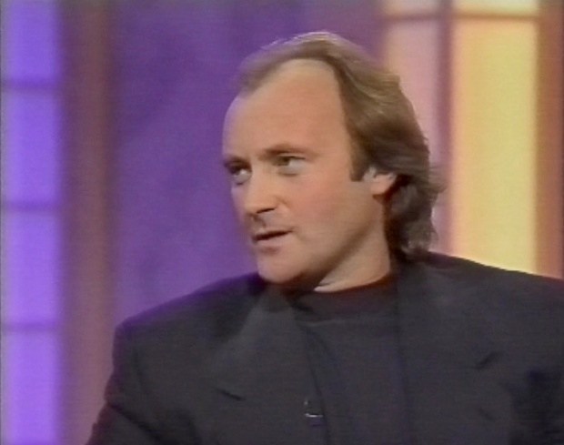 Phil Collins on Clive Anderson