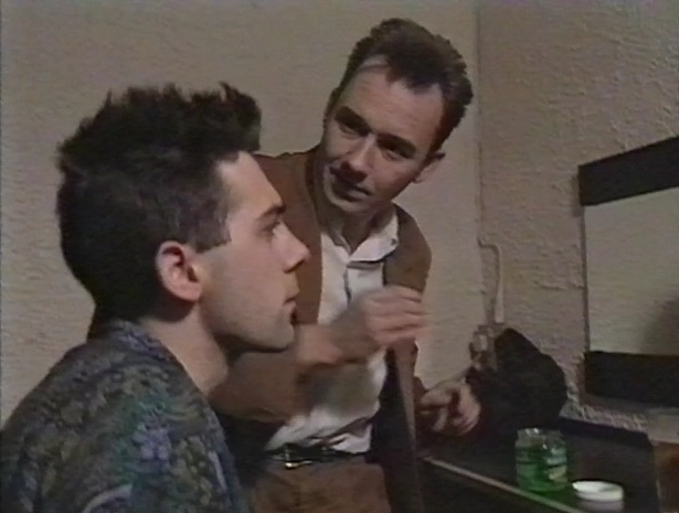 Bob Mortimer and Sean Hughes