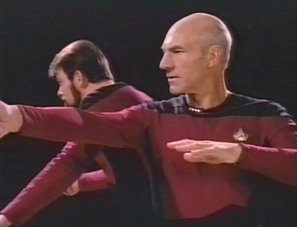 Picard and Riker play Quasar