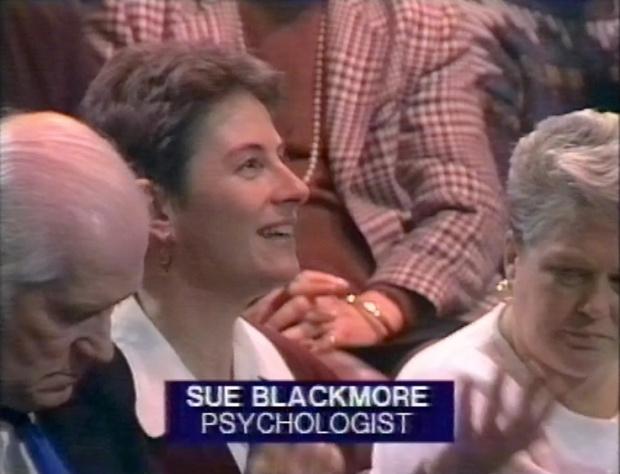 Sue Blackmore on James Randi Psychic Investigator
