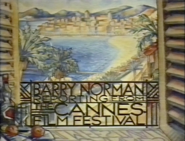 Barry Norman in Cannes