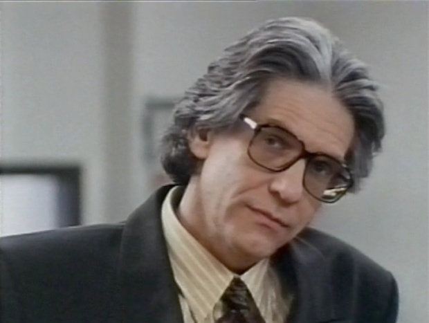 David Cronenberg in Blue