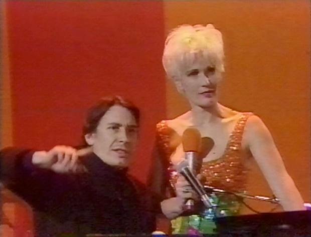 Jools Holland and Paula Yates