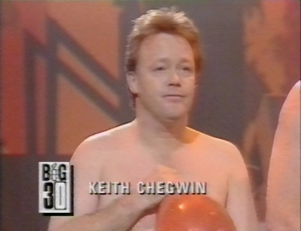 Keith Chegwin on Legs