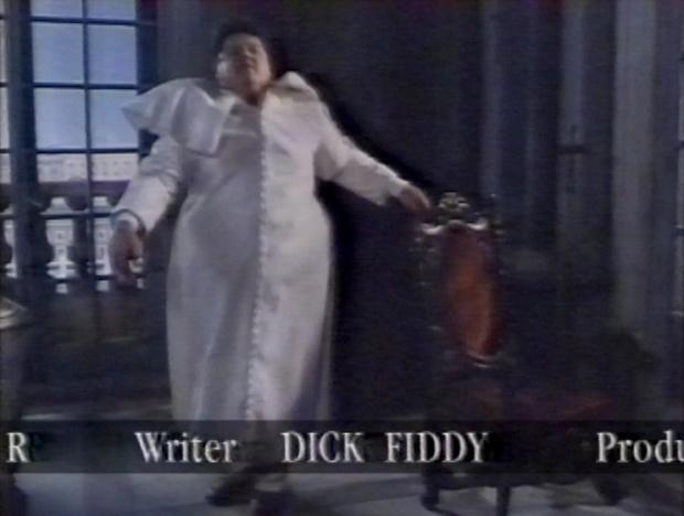 Writer Dick Fiddy