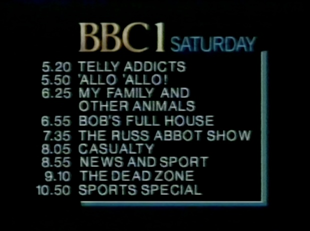 BBC1 Saturday Night