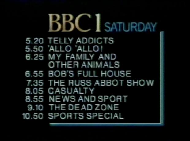 BBC1 Saturday Night