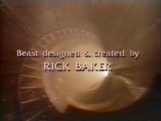 Beast Designed by Rick Baker