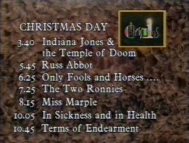 Christmas Day BBC1 1987