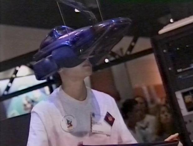 Cyberville VR headset