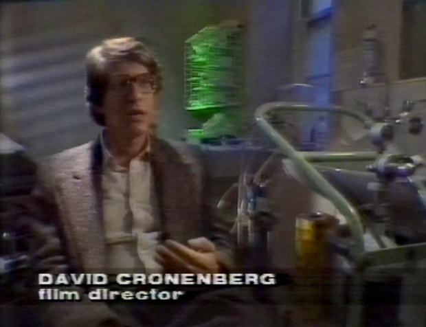 David Cronenberg on The Media Show