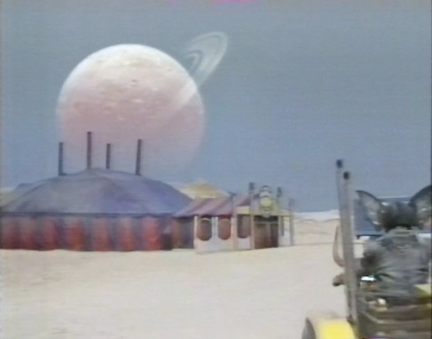 Doctor Who Matte Painting