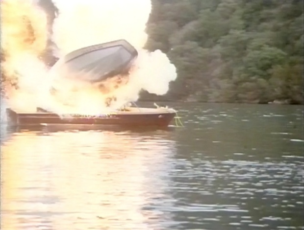 Exploding Boat