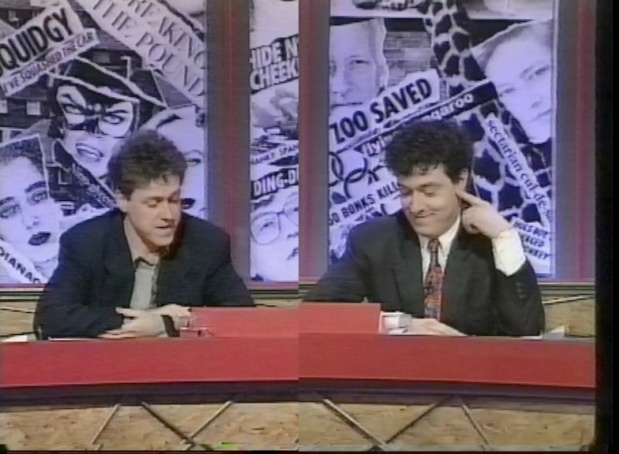 John Sessions and Griff Rhys Jones
