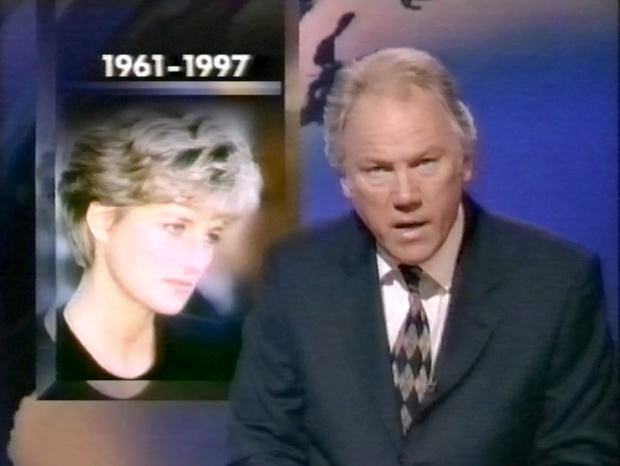 News Coverage Of Princess Diana S Death Tape 2428 Vhistory