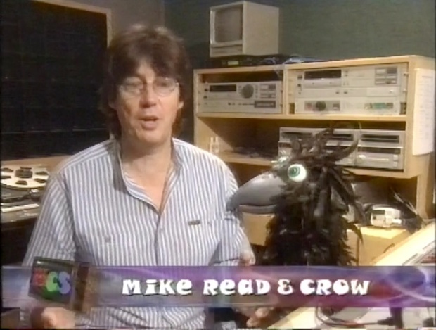 Mike Read and Crow