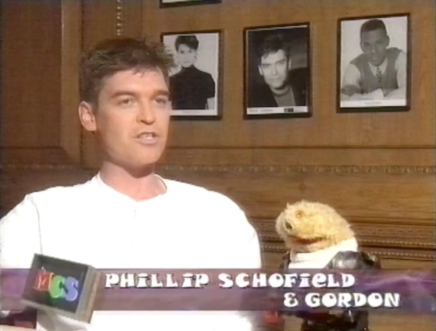 Phillip Schofield and Gordon