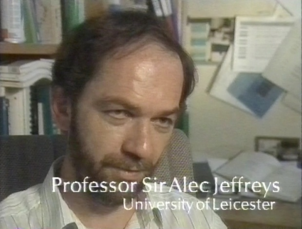 Professor Sir Alec Jeffreys