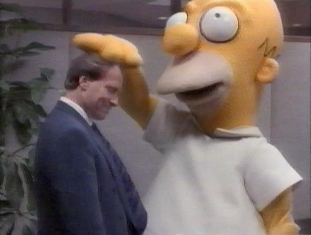 Homer Simpson in LA Law