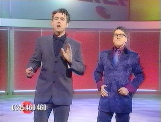 Jonathan Ross and Griff Rhys Jones