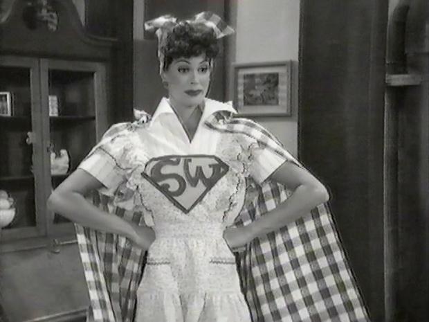 Lois as Superwoman