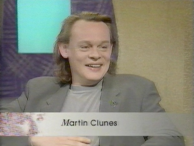 Martin Clunes on Carol Smillie