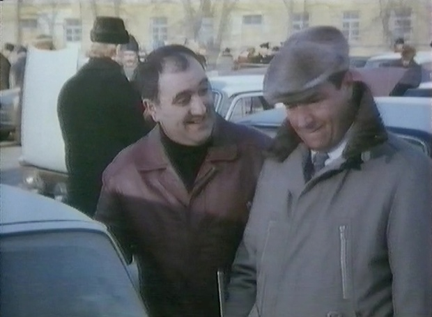 Alexei Sayle and Michael Elphick