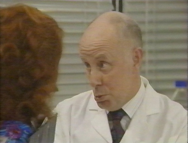Richard Wilson with Emma Thompson