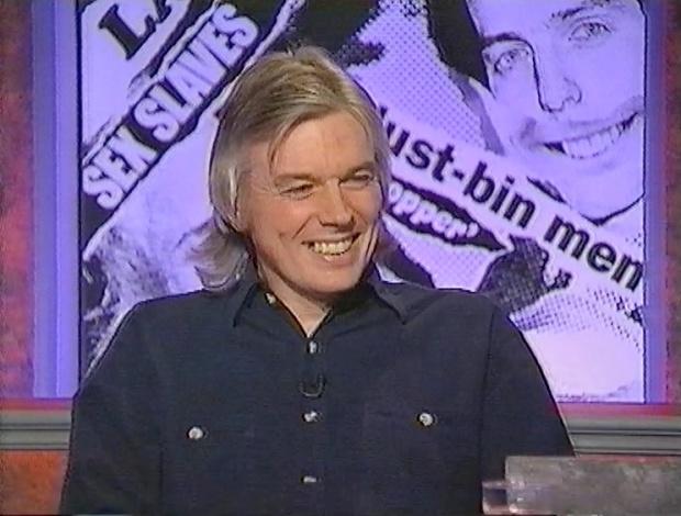 David Icke on HIGNFY