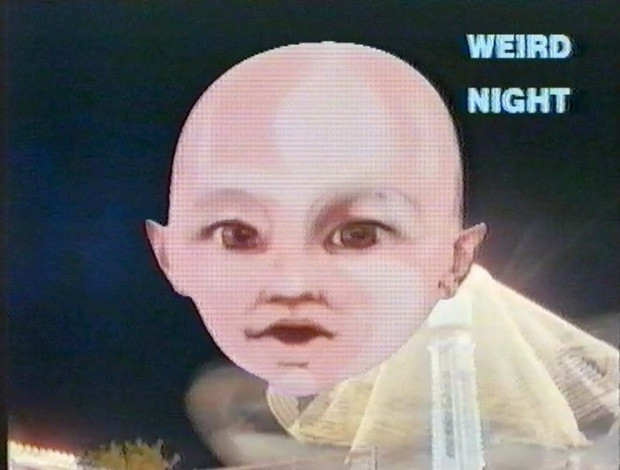 Weird Night Talking Head