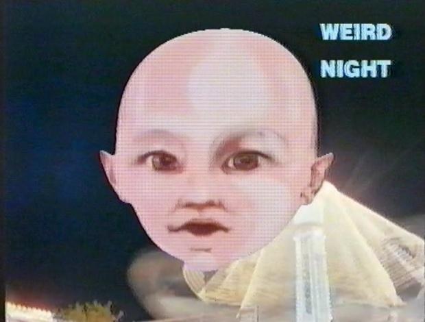 Weird Night Talking Head