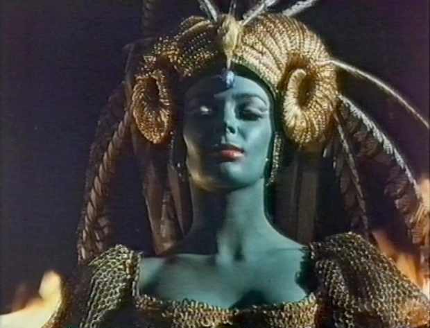 A Blue Barbara Steele