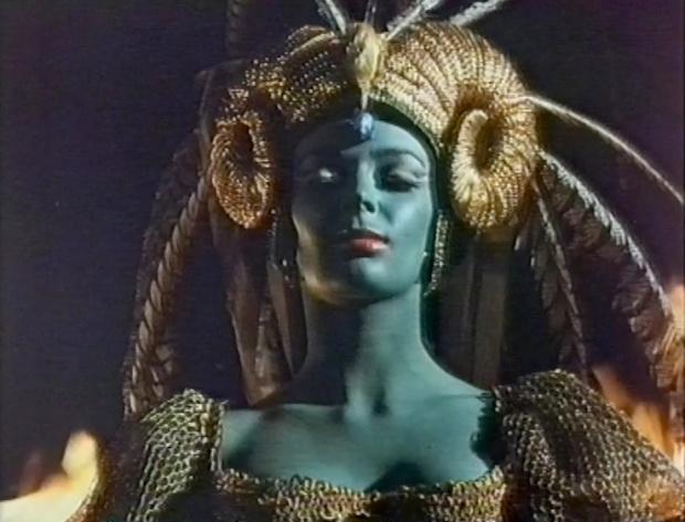 A Blue Barbara Steele