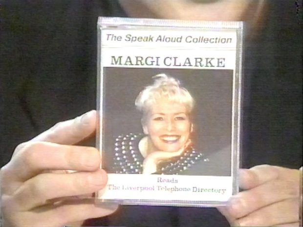 Margi Clarke reads the Liverpool Telephone Directory