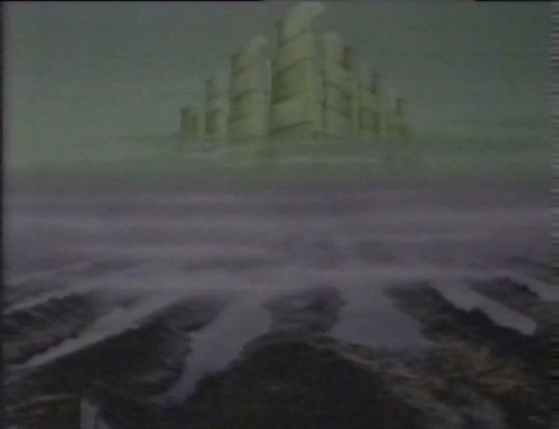 A Very Peculiar Matte Painting