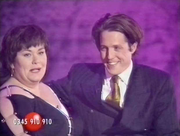 Dawn French and Hugh Grant