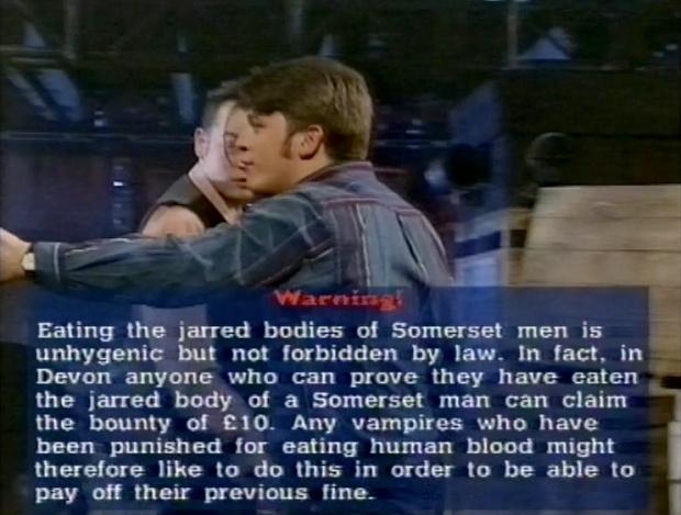 Fist of Fun jarred bodies