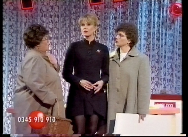 Joanna Lumley with French and Saunders