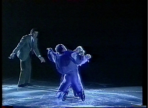 Mr Bean meets Torvill and Dean