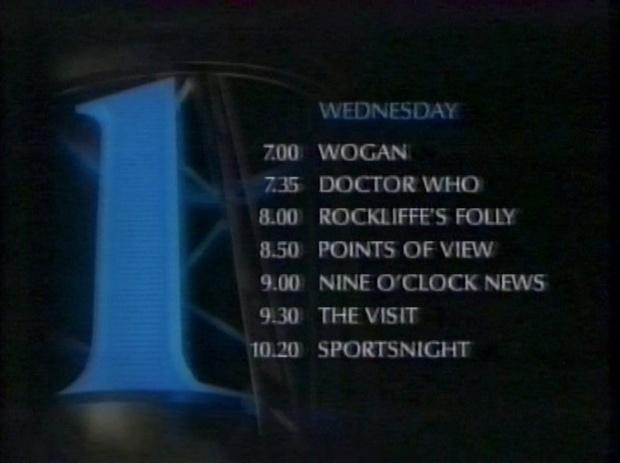 BBC1 programmes 23rd November 1988