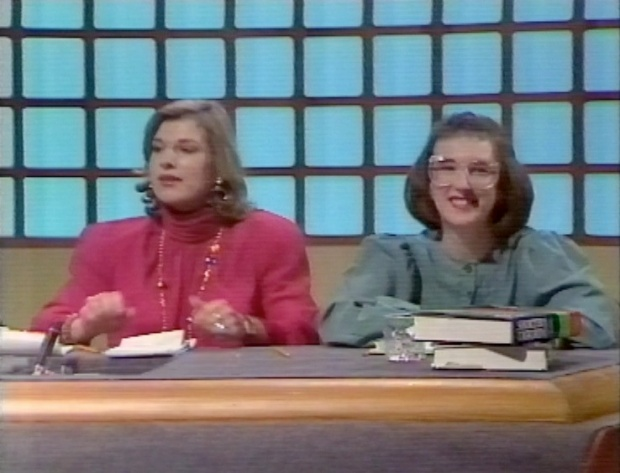 Carol Thatcher and Julia Swannell