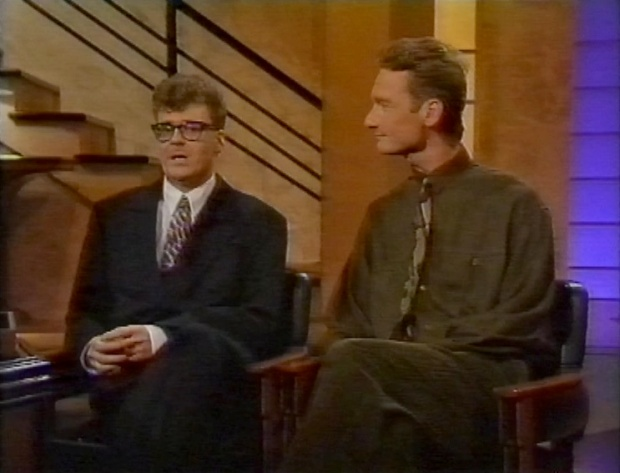 Greg Proops and Ryan Stiles