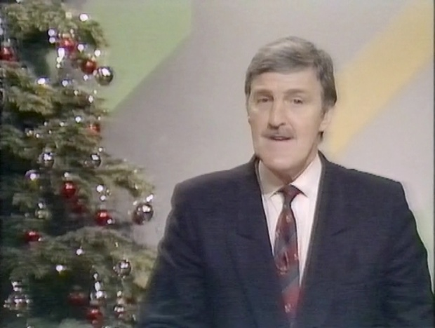 Jimmy Hill at Christmas
