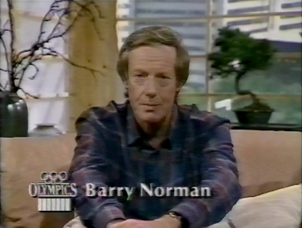 Barry Norman at the Olympics