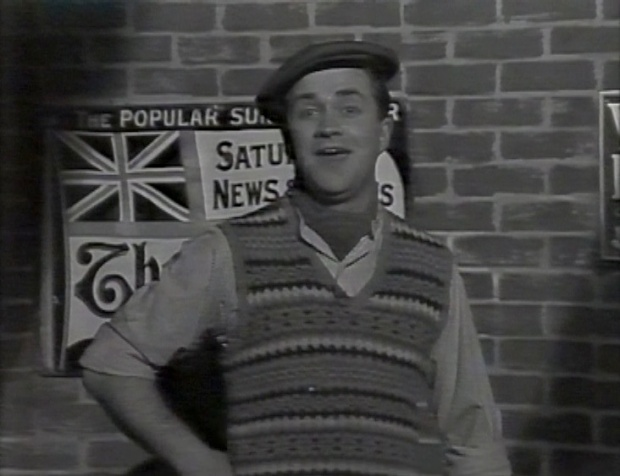 Harry Enfield in The Black and White Sketch