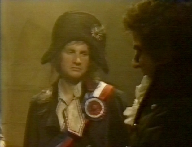 Chris Barrie as a revolutionary