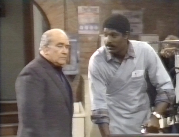 Ed Asner and Dennis Haysbert